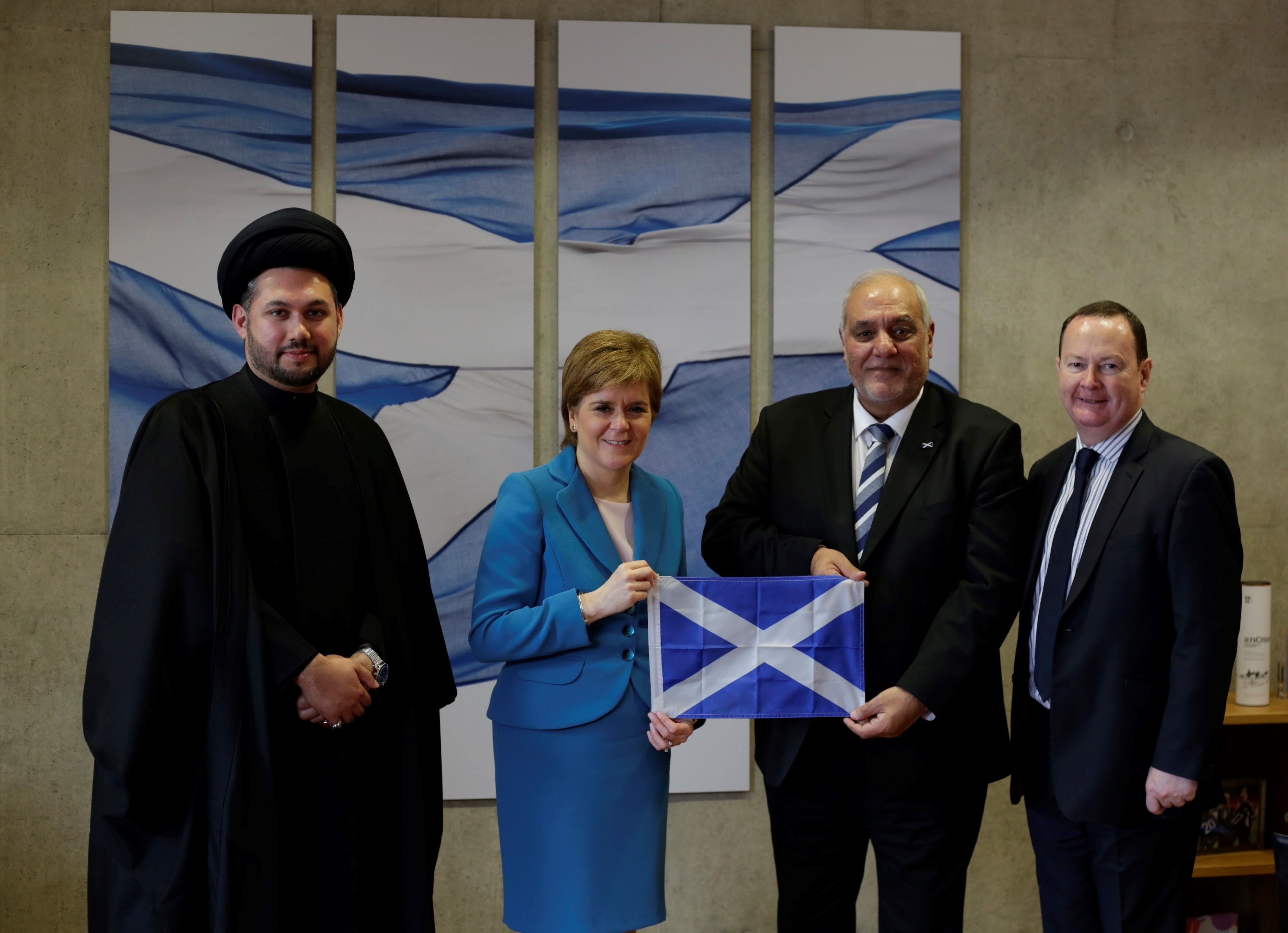 First Minister SABS and Flag